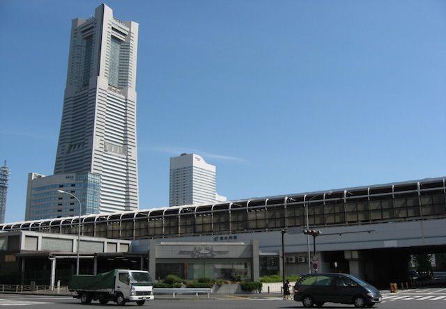 桜木町駅 ランドマークタワー