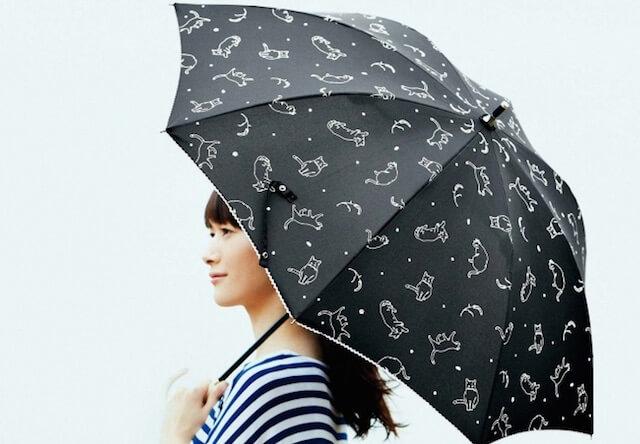 猫柄の傘 ニャンブレラ 第2弾