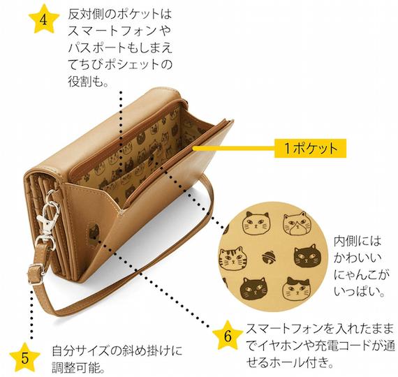 7つ星長財布の特徴2