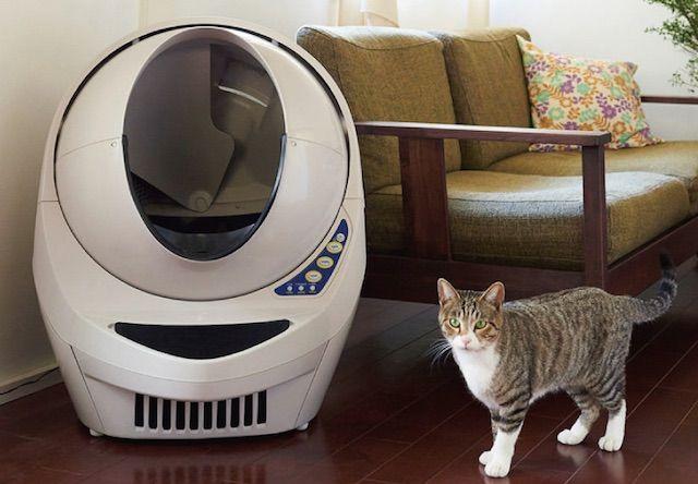 次世代自動猫トイレ「キャットロボット Open Air」