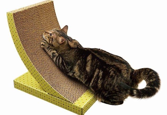 アイリスオーヤマから猫の習性に合わせた6種類の爪とぎが発売