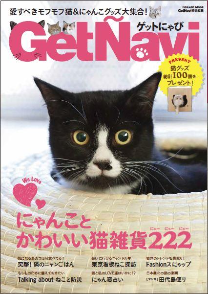 猫まみれ本「ゲットにゃび」