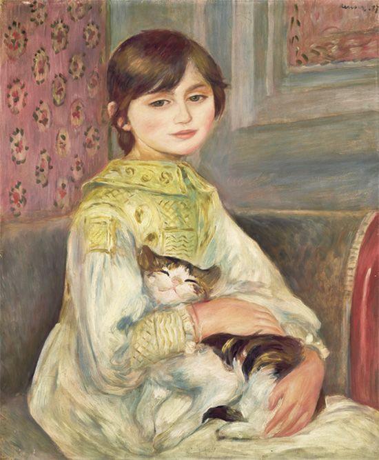《ジュリー・マネ》あるいは《猫を抱く子ども》