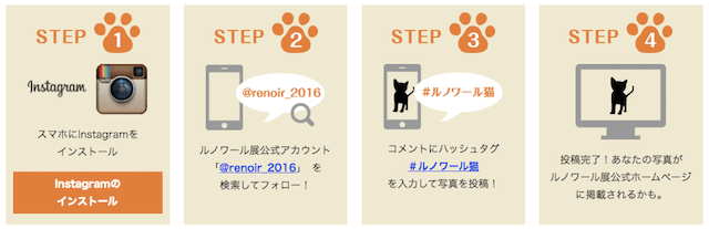 スマイル猫 キャンペーン 参加手順