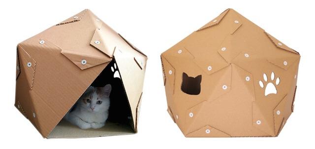 ペンタゴンのダンボール猫ハウス