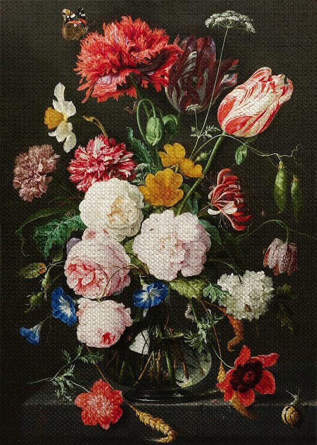 「花瓶の花」ヤン・ダヴィス・デ・ヘーム