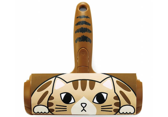 猫の毛が大好物!ぱくぱく食べちゃうお掃除ローラー