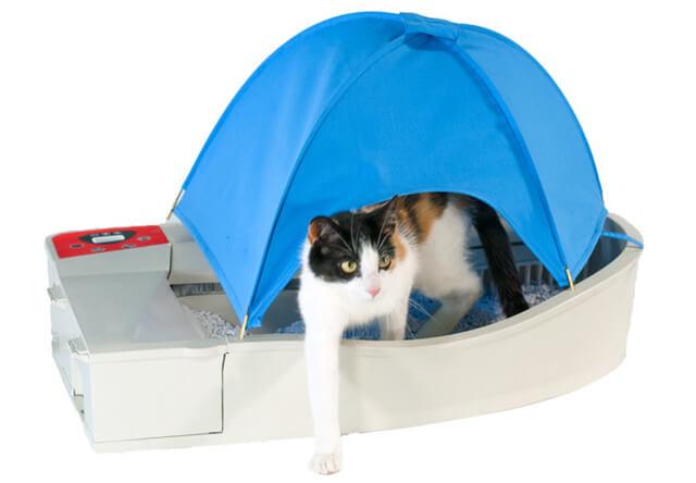 スマホと連動した猫の自動トイレ「Smart Kitty」が登場