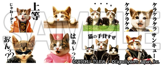 LINEスタンプ2 なめ猫 ~なめんなよ~
