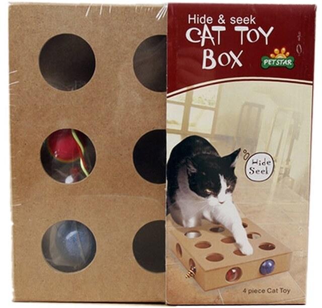 CAT TOY BOX