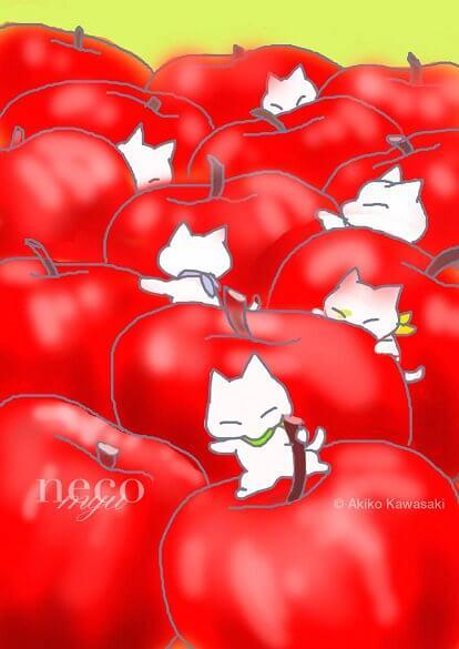 川崎あき子さんの猫作品1