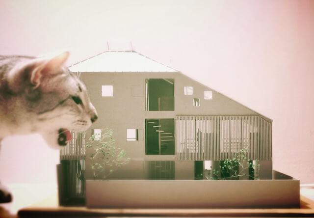 マウハウス世田谷の模型2