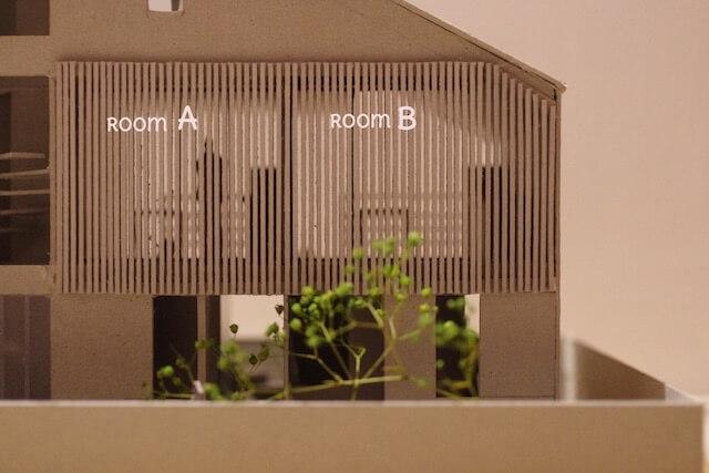 マウハウス世田谷 賃貸部屋の模型