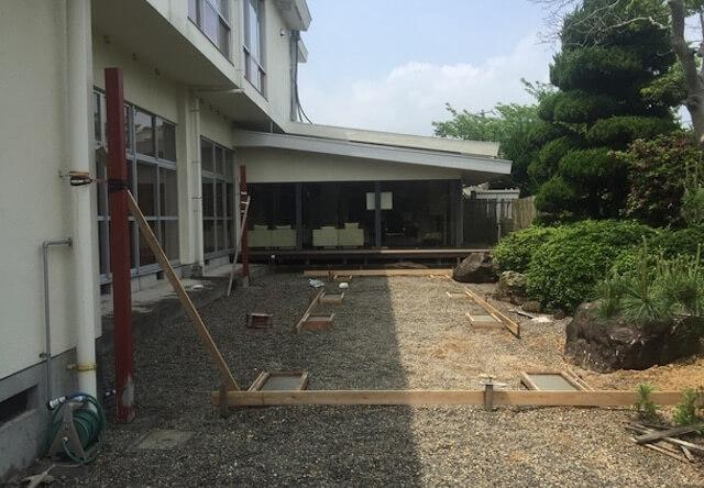 基礎工事の施工