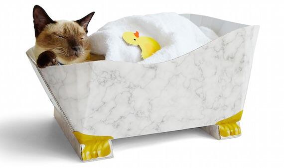 アヒルといっしょに寝風呂