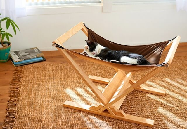 猫のうたた寝を加速する、キャットハンモック アドバンス