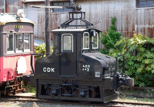 電気機関車の車両「デキ3」