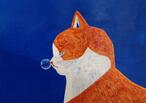鼻提灯猫オリジナルポストカード