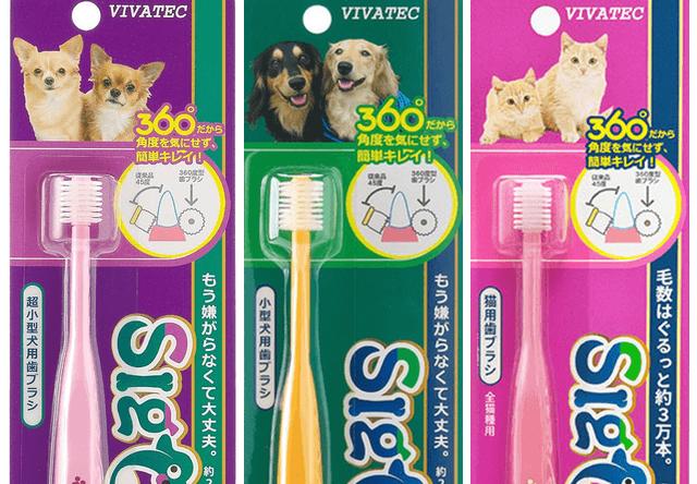ペット用歯ブラシの「シグワン」から、猫用の歯ブラシが新登場