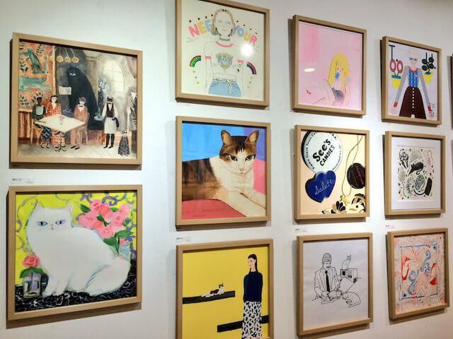 CAT POWER 2016の展示作品