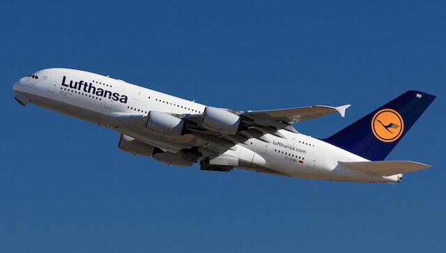 ルフトハンザ ドイツ航空の旅客機