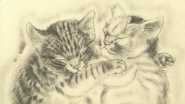 猫の絵画3