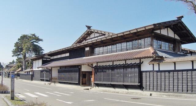 国の重要文化財「渡邉邸」外観