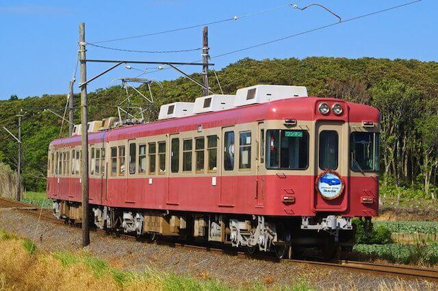 銚子電鉄のレトロな車両