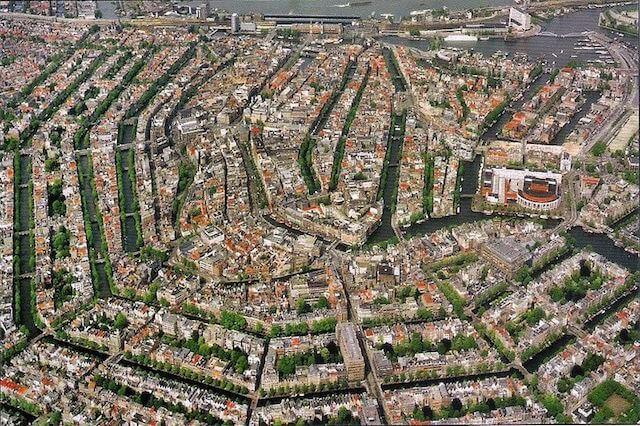 アムステルダムの環状運河