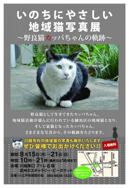 いのちにやさしい地域猫写真展