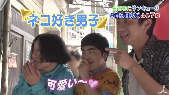 チュートリアルの徳井さん、ネコ好き男子の加藤諒さん、永野さんは熱海の猫スポットへ