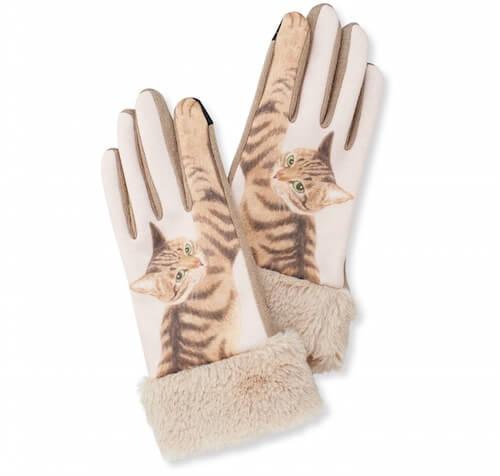 猫パンチ手袋 キジトラ