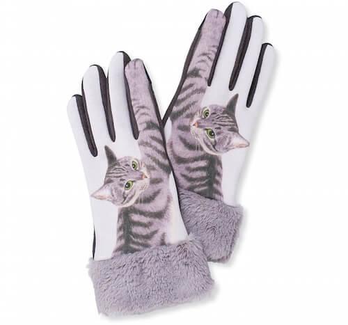 猫パンチ手袋 サバトラ