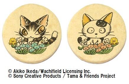 タマ&フレンズと猫のダヤンの「限定クッキー」