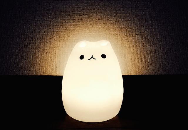 猫型ランプ購入者の写真5