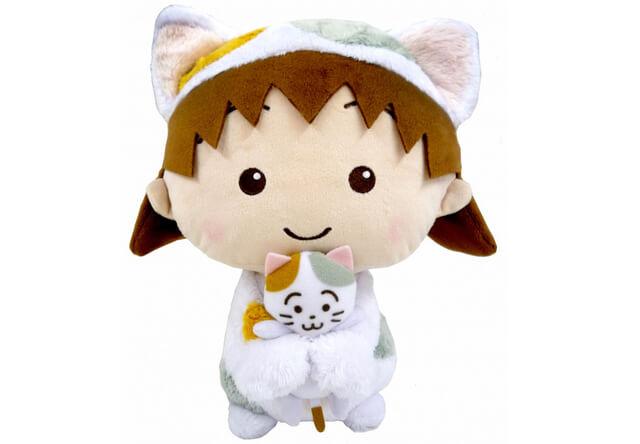 「ちびまる子ちゃん」の主人公、まる子が猫に扮した「ちびまる子にゃん」