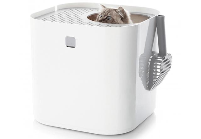 上から入るオシャレな猫トイレ「ModKat モドキャット」