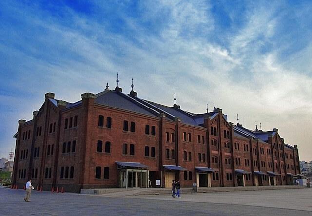 会場の横浜赤レンガ倉庫
