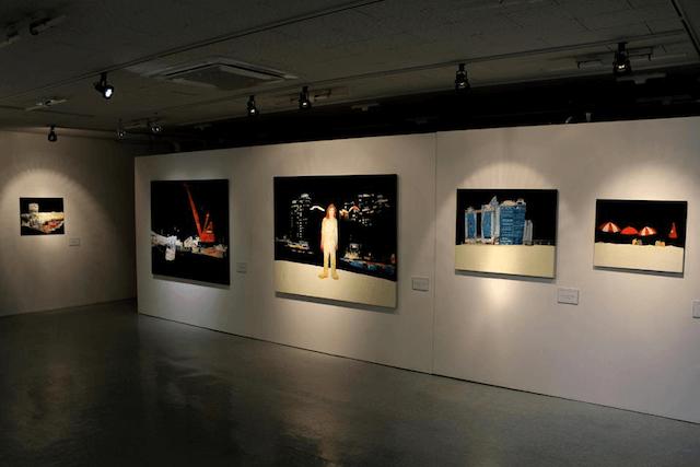 画家・田中千智さんの海外展示会
