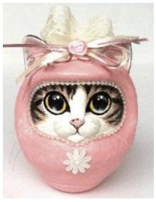 アトリエ・ル・ミュゼの「ハッピー猫だるま」
