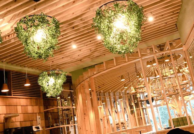猫カフェMoCHA(モカ)秋葉原店の天井、照明