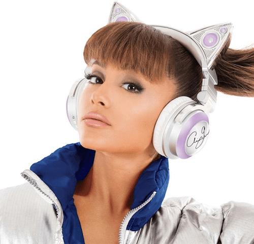 ネコ耳型ヘッドフォン「AXENT WEAR(アクセント ウェア)」のアリアナ・グランデ」限定モデル3