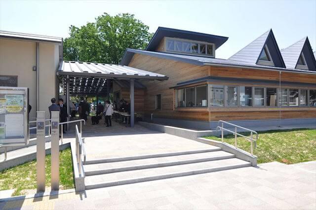 京都動物愛護センター(動物愛ランド・京都」)の外観