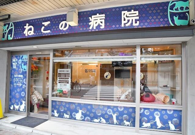 「動物病院京都 ねこの病院」の外観