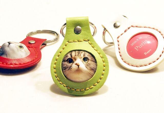 猫の顔が飛び出す立体キーホルダー「MyPoppet(まいぽぺっと)」