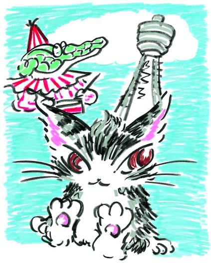 猫のダヤンのオリジナルグッズ