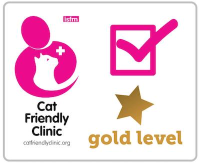 国際猫学会(ISFM)の「キャットフレンドリークリニック」ゴールドレベル