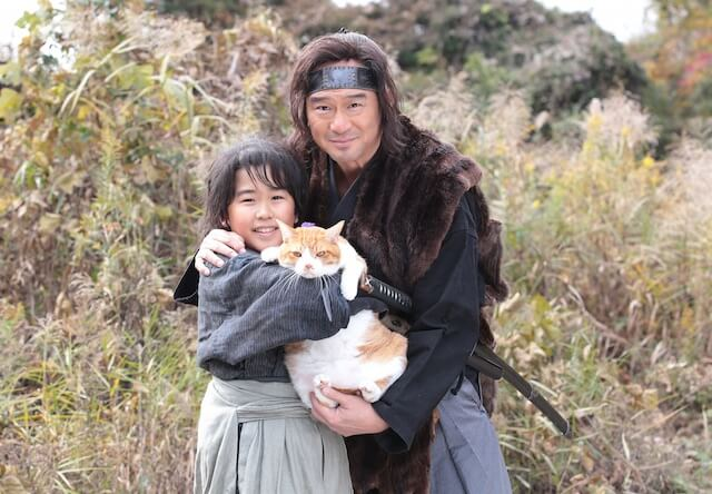 猫忍(ねこにん)で親子を演じる船越英一郎さんと鈴木福君