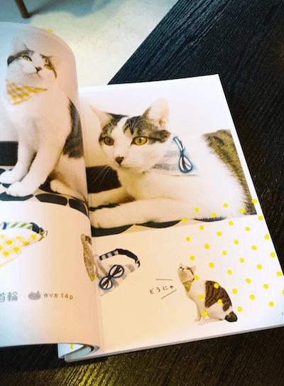 書籍「猫がよろこぶ手作りグッズ」の掲載写真2