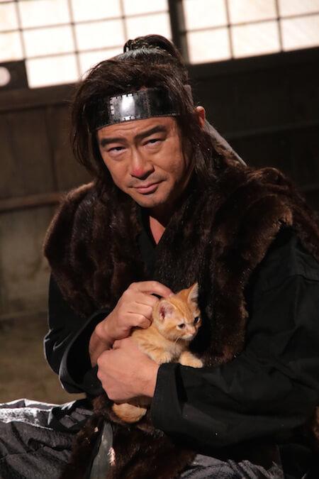 船越英一郎さん演じる、伝説の忍者「久世剣山」